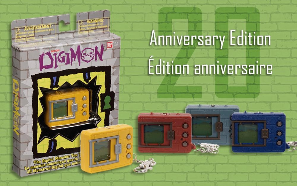 20th Anniversary Digimon