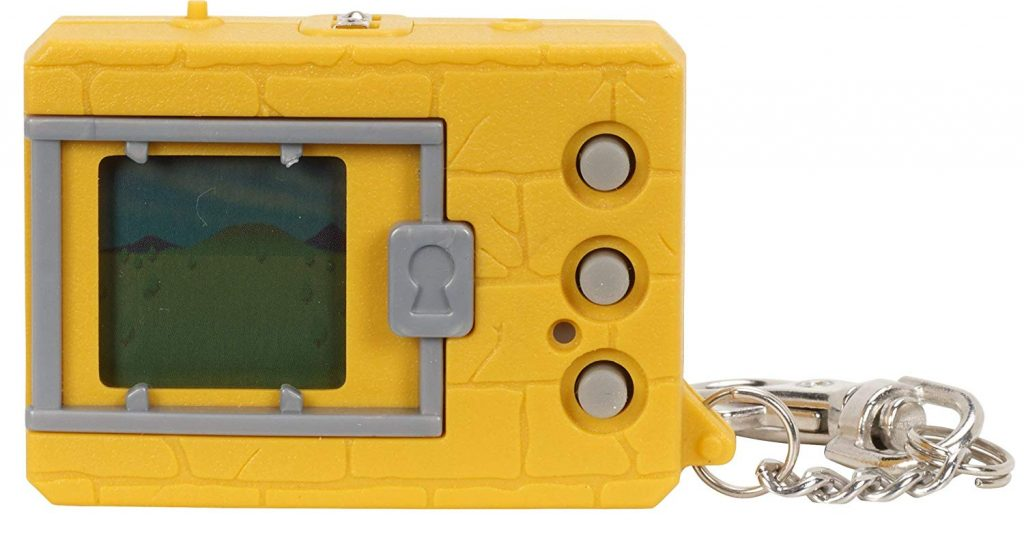 20th Anniversary Digimon Yellow