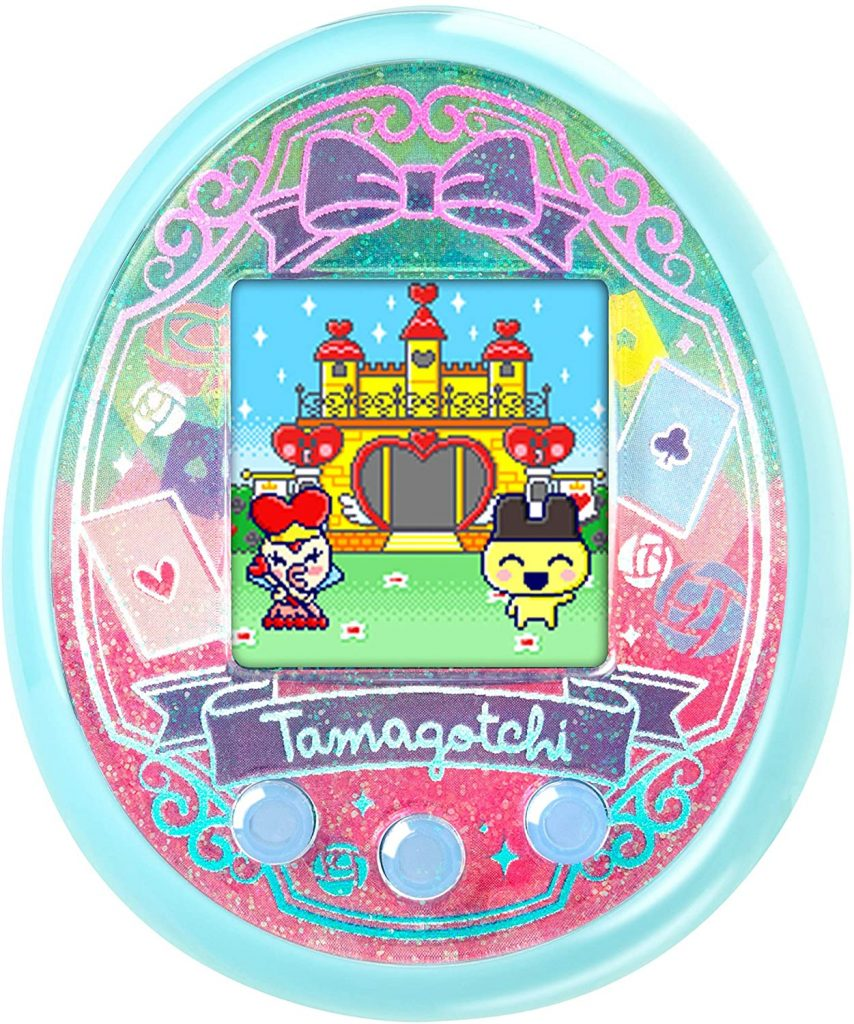 Wonder Garden Tamagotchi On Turquoise
