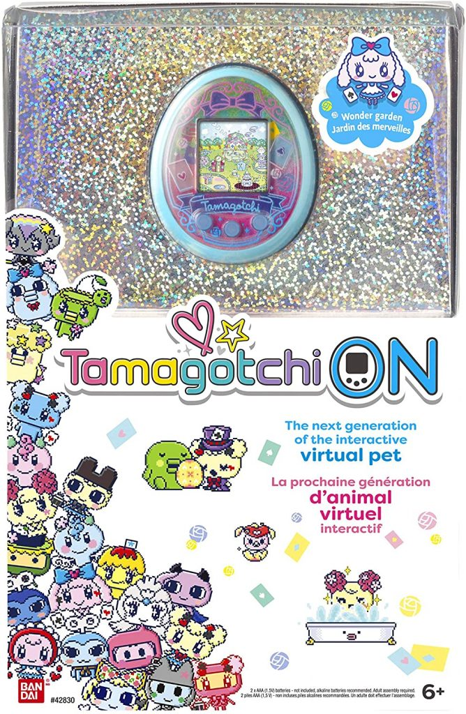 Wonder Garden Tamagotchi On Turquoise Box