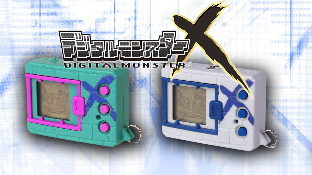 Digimon X Green & Blue and White & Blue versions